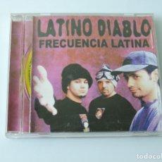 CDs de Música: LATINO DIABLO / FRECUENCIA LATINA CD. Lote 156811346