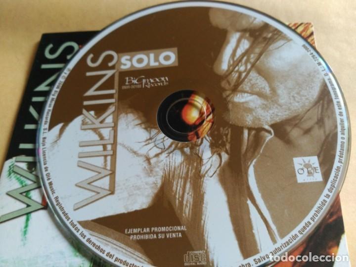 CDs de Música: 1 TRACK PROMO CD WILKINS - SOLO - SPAIN 2006 EX - Foto 2 - 156813158