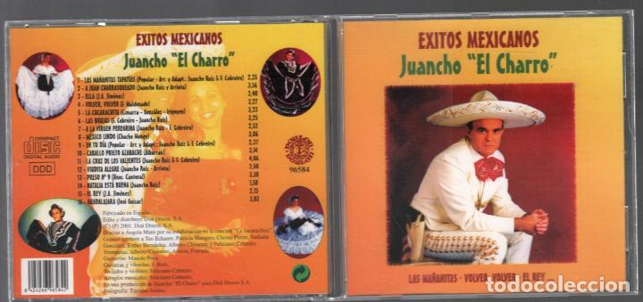 JUANCHO EL CHARRO / EXITOS / CD ALBUM DE 2001 RF-889 BUEN ESTADO (Música - CD's Latina)