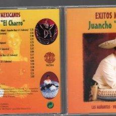 CDs de Música: JUANCHO EL CHARRO / EXITOS / CD ALBUM DE 2001 RF-889 BUEN ESTADO. Lote 156815230