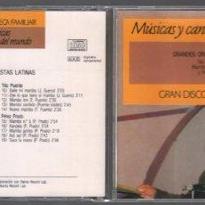 CDs de Música: GRAN DISCOTECA FAMILIAR Nº 43- GRANDES ORQUESTAS LATINAS / CD DE 1991 RF-892. Lote 156816062