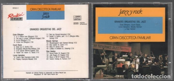 GRANDES ORQUESTAS DEL JAZZ - GRAN DISCOTECA FAMILIAR Nº 22 / CD DE 1991 , RF-893, BUEN ESTADO (Música - CD's Latina)