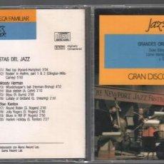 CDs de Música: GRANDES ORQUESTAS DEL JAZZ - GRAN DISCOTECA FAMILIAR Nº 22 / CD DE 1991 , RF-893, BUEN ESTADO. Lote 156816266
