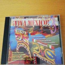 CDs de Música: ¡VIVA MÉXICO! 3 (PEDRO INFANTE / AMALIA MENDOZA / JOSÉ ALFREDO JIMÉNEZ / FERNANDO ROSAS Y MARIACHI) . Lote 156846610