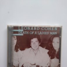 CDs de Música: LEONARD COHEN: DEATH OF A LADIES'MAN.CD. Lote 156876790