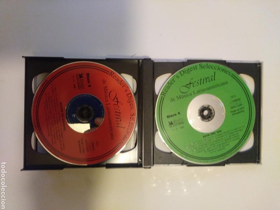 CDs de Música: Festival de musica latinoamericana.5 cds.box. - Foto 4 - 156886809