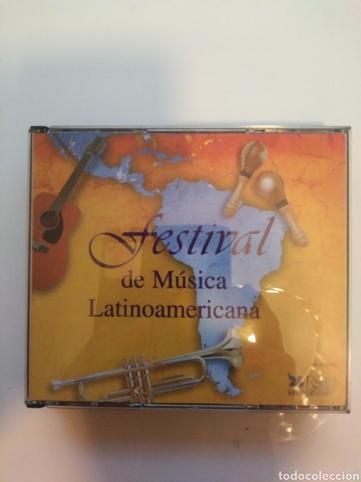 FESTIVAL DE MUSICA LATINOAMERICANA.5 CDS.BOX. (Música - CD's Latina)