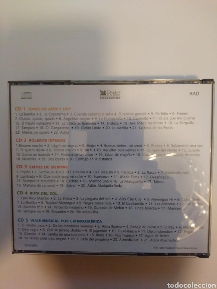 CDs de Música: Festival de musica latinoamericana.5 cds.box. - Foto 2 - 156886809