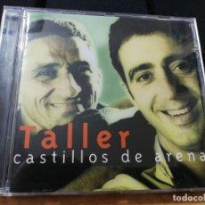 CDs de Música: TALLER CASTILLOS DE ARENA CD ALBUM 1998 KIKO TOVAR PEDRO GUERRA MIKEL URDARGARIN CONTIENE 16 TEMAS. Lote 156896866