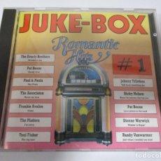 CDs de Música: CD JUKE-BOX ROMANTIC HITS 1. Lote 156898378