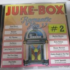 CDs de Música: CD JUKE-BOX ROMANTIC HITS 2. Lote 156898414