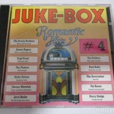 CDs de Música: CD JUKE-BOX ROMANTIC HITS 4. Lote 156898550