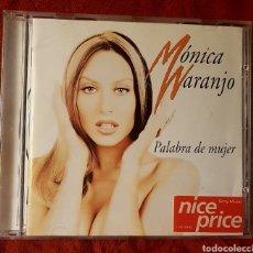 CDs de Música: PALABRA DE MUJER. MÓNICA NARANJO.. Lote 156909566