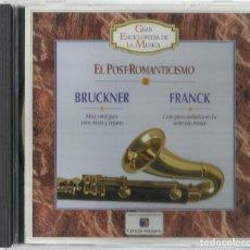 CDs de Música: BRUCKNER - FRANK. Lote 156967570