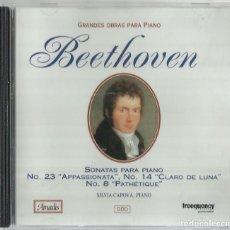 CDs de Música: BEETHOVEN: SONATAS PARA PIANO. Lote 156968730