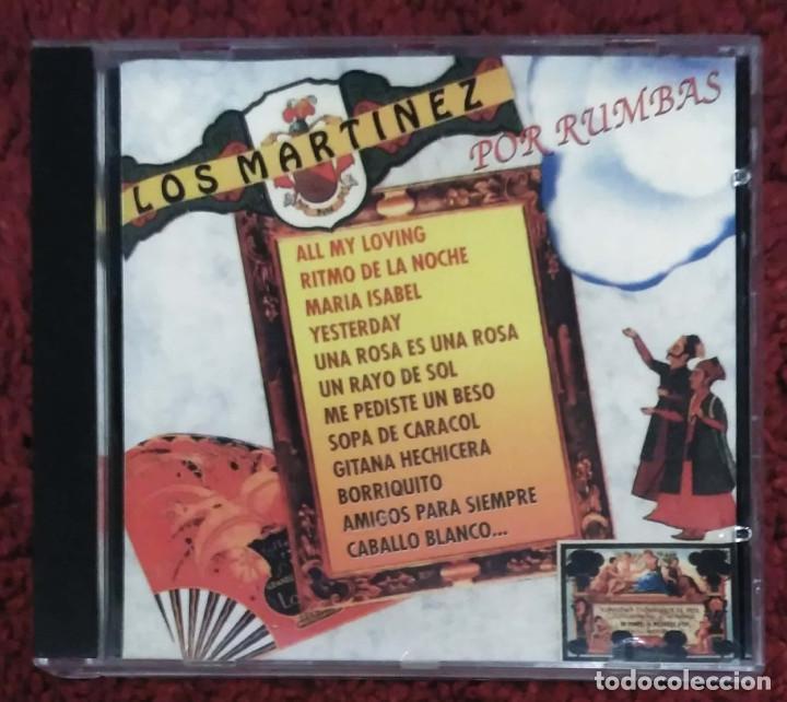 LOS MARTINEZ (POR RUMBAS) CD 1995 (Música - CD's Flamenco, Canción española y Cuplé)