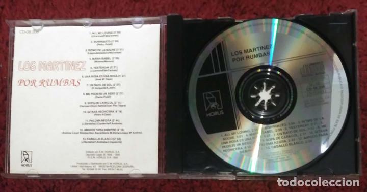 CDs de Música: LOS MARTINEZ (POR RUMBAS) CD 1995 - Foto 3 - 157002750