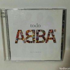 CDs de Música: CD-DVD TODO ABBA. Lote 157002966
