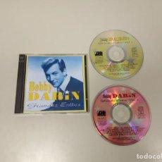 CDs de Música: 319- BOBBY DARIN GRANDES EXITOS 2 CD ENVIO ECONOMICO. Lote 157008562