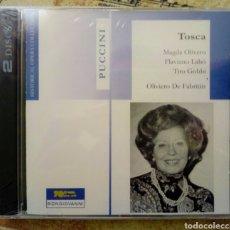 CDs de Música: PUCCINI. TOSCA. MAGDA OLIVERO (2CDS). Lote 157016806