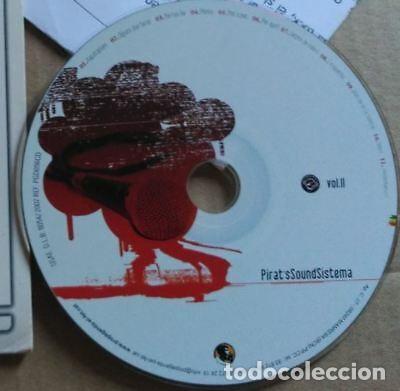 CDs de Música: PROMO CD PIRAT'S SOUND SISTEMA - VOL. II - PROPAGANDA 2007 VG+ CATALA REGGAE - Foto 2 - 157053258