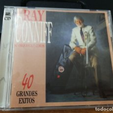 CDs de Música: RAY CONNIFF SU ORQUESTA Y COROS 40 GRANDES EXITOS DOBLE CD DEL AÑO 1994 ESPAÑA 40 TEMAS 2 CD. Lote 157057598