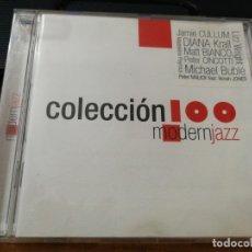 CDs de Música: COLECCION 100 MODERN JAZZ CD ALBUM 2005 ESPAÑA JAMIE CULLUM DIANA KRALL MICHAEL BUBLE PETER CINCOTTI. Lote 157059526