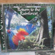 CDs de Música: RETURN TO THE RAINFOREST CD ALBUM NUEVO¡¡ PEPETO. Lote 157241870
