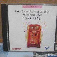 CDs de Música: CD ALBUM - LAS 100 MEJORES CANCIONES DE NUESTRA VIDA - VOLUMEN 10. Lote 157245270