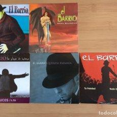 CDs de Música: EL BARRIO. EL COCO. ANGEL MALHERIDO TRUCOS. QUERIDA ENEMIGA. TU FRIALDAD (5 CD SINGLES PROMO ). Lote 157269212