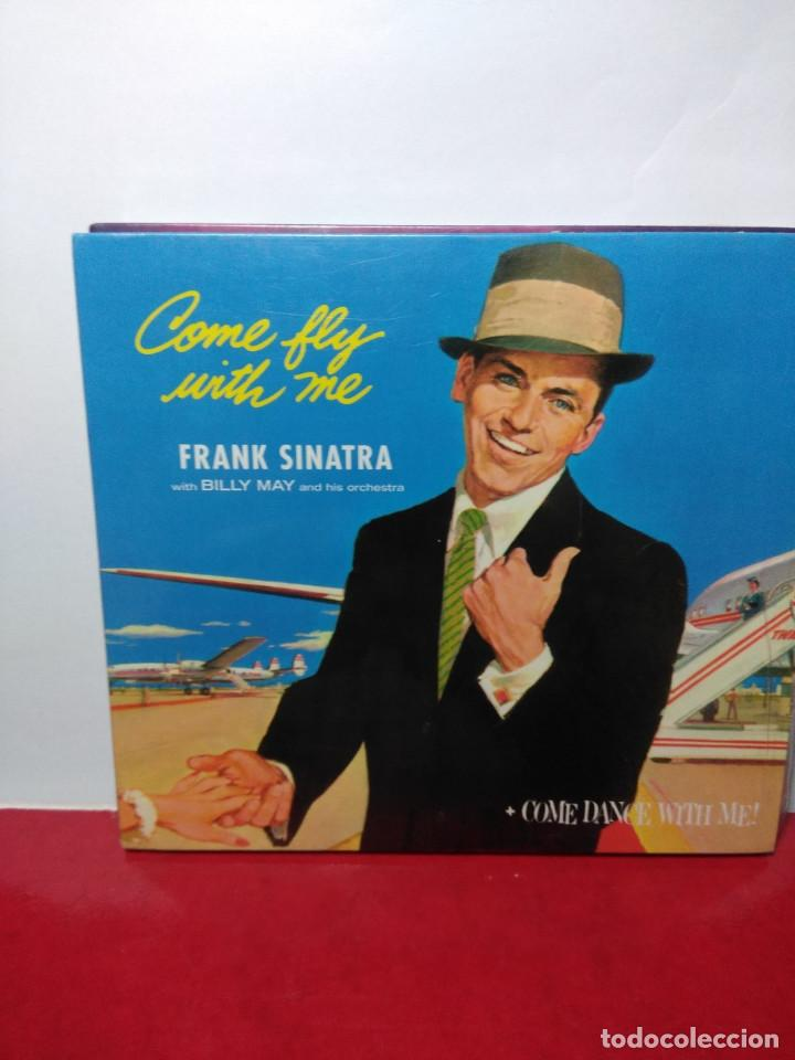 CD FRANK SINATRA ( DIGIPACK INCLUYENDO LOS ALBUMES COME FLY TO ME + COME DANCE WITH ME) (Música - CD's Jazz, Blues, Soul y Gospel)