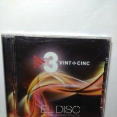 CDs de Música: CD 3 VINT-I-CINC : EL DISC POBLE NOU + SPUTNIK + POLONIA + SHIN SHAN + VENT DEL PLA + PLATS BRUTS. Lote 157294894