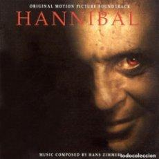 CDs de Música: HANNIBAL / HANS ZIMMER CD BSO. Lote 193367285
