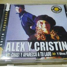 CDs de Música: CD EXTRA RARO! ALEX Y CRISTINA - CHAS! Y APAREZCO A TU LADO. Lote 157300477