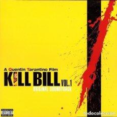 CDs de Música: KILL BILL VOL.1 / ISAAC HAYES, STANLEY CLARK, LUIS BACALOV, BERNARD HERRMANN, RZA... VARIOS CD BSO. Lote 157303186