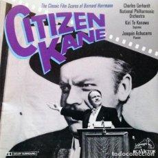 CDs de Música: CITIZEN KANE: THE CLASSIC FILM SCORES / BERNARD HERRMANN CD BSO. Lote 157304750