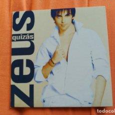 CDs de Música: RARE 1 TRACK PROMO CD ZEUS TOUS - QUIZAS - CAM SPAIN 2008 EX SARA MONTIEL. Lote 157340994