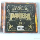 CDs de Música: PANTERA - OFFICIAL LIVE 101 PROOF CD. Lote 157349018
