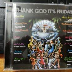 CDs de Música: THANK GOD IT´S FRIDAY BANDA SONORA 2 CD ALBUM DIANA ROSS DONNA SUMMER THE COMMODORES CAMEO RARO. Lote 157481634