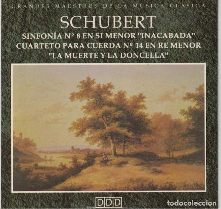 Cd Schubert Sinfonia Nº 8 Cuarteto Para C Comprar Cds De Música Clásica ópera Zarzuela Y Marchas En Todocoleccion 157684830