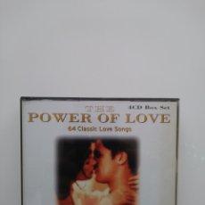 CDs de Música: POWER OF LOVE.4CD BOXSET. Lote 214815528