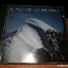CDs de Música: AL FILO DE LO IMPOSIBLE BANDA SONORA RTVE CD ALBUM 1992 MUSICA SUSO SAIZ CONTIENE 25 TEMAS RARO. Lote 157735710