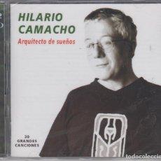 CDs de Música: HILARIO CAMACHO DOBLE CD ARQUITECTO DE SUEÑOS 2002 30 GRANDES CANCIONES (PRECINTADO). Lote 157743726
