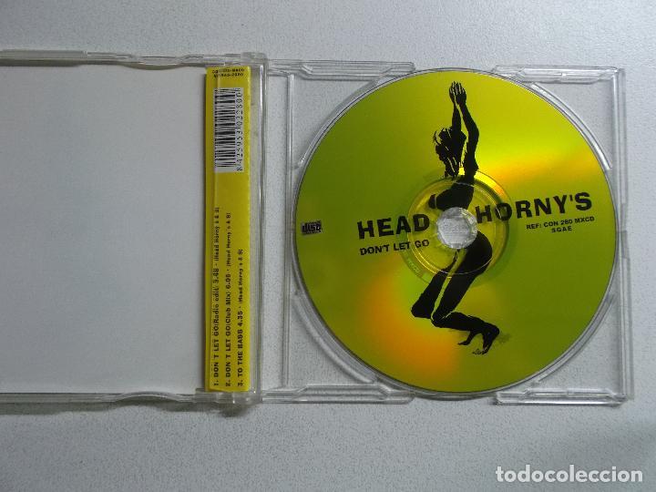 CDs de Música: HEAD HORNY,S DON,T LET GO CD SINGLE CONTRASEÑA - Foto 2 - 157773426