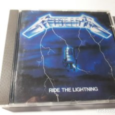 CDs de Música: METALLICA - RIDE THE LIGHTING - CD - VERTIGO / PHONOGRAM - 1989. Lote 157774718