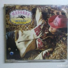 CDs de Música: MADONNA MUSIC CD SINGLE. Lote 157794734