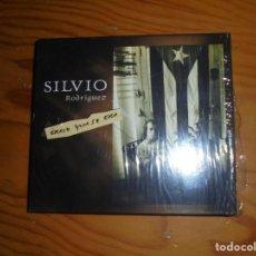 CDs de Música: SILVIO RODRIGUEZ. ERASE QUE SE ERA. OJALA, 2006. 2 CD´S + LIBRETO. IMPECABLE. (#). Lote 157850410