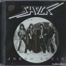 CDs de Música: SHOCK CD SPANISH HEAVY 1986 (ONLY 250 COPIES)-THOR-SARATOGA-JUPITER-EXODO-MURO-ROCK DAM. Lote 157863594