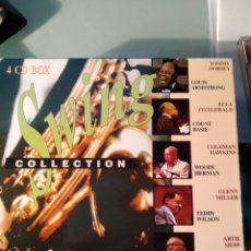 CDs de Música: SWING COLLECTION - 4 CDS. Lote 157882974