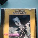 CDs de Música: DJANGO REINHARDT – DJANGO REINHARDT THE COLLECTION INCLUDING SOLITUDE IN A SENTIMENTAL MOOD THE SHE. Lote 157886546